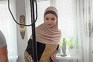 A Muslim cleaning lady was punished for failing to complete the task